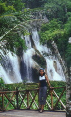 Bang@Kuangsywaterfall Luangprabang Province, Laos.